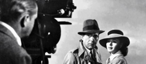 Ingrid Bergman y Humprey Bogart en Casablanca