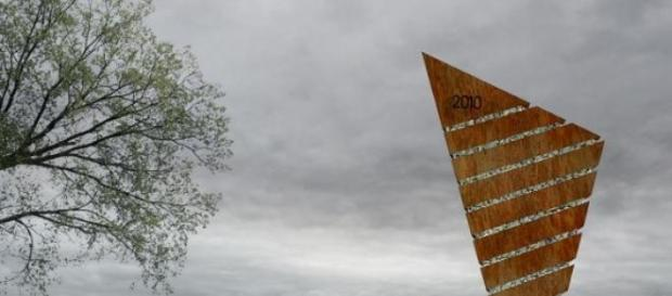 Monumento de la localidad de Monte Buey