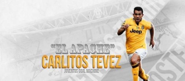 Tevez a inscrit six buts en Ligue des Champions.