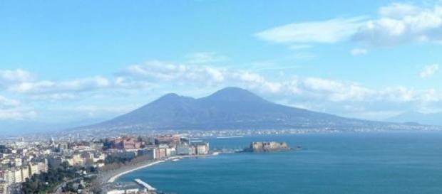 veduta di Napoli, dove si è verificato il fatto