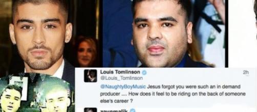 Zayn Malik attacca Louis Tomlinson su Twitter