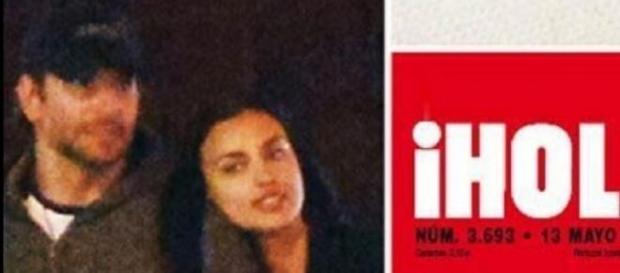 Capa da Hola revela novo namorado de Irina Shayk