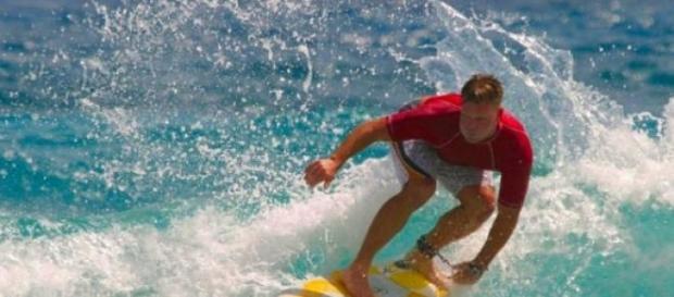 El surf es una actividad divertida