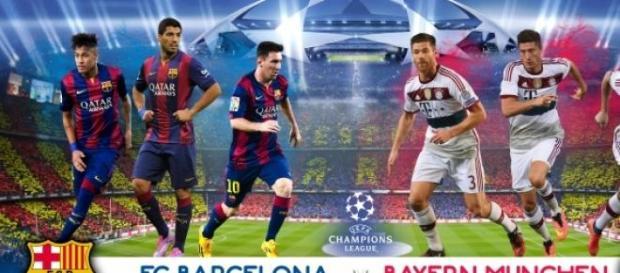 F.C. Barcelona - Bayern, semifinal de infarto.