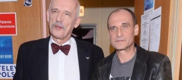 Janusz Korwin-Mikke i Paweł Kukiz