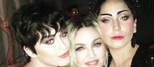 Katy Perry, Madonna y Lady Gaga