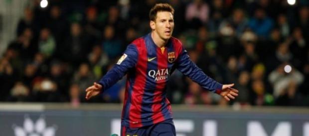 Messi, el héroe del partido