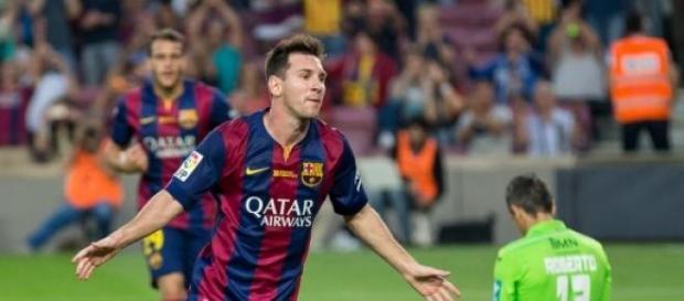 Messi hat allen Grund zu jubeln.
