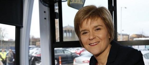 Nicola Sturgeon, chef du SNP.