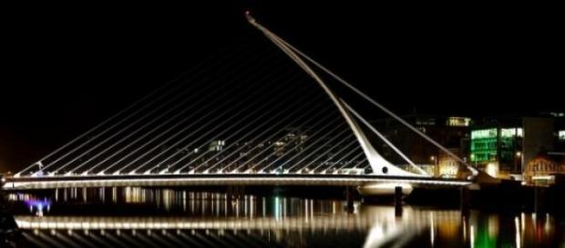 Samuel Beckett Bridge em Dublin