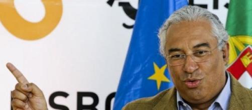 António Costa quer menos peso fiscal do IRS.
