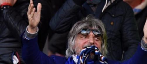 il vulcanico presidente della Sampdoria Ferrero