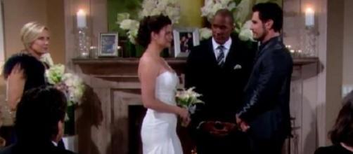 Katie e Bill si sposano a Beautiful