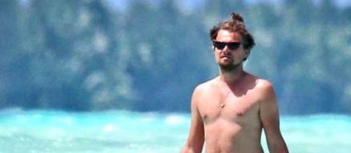 Leonardo DiCaprio está com um corpo 'Dad bod'