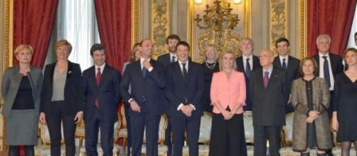 Lo staff del Governo Renzi