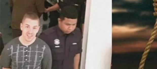 Condamnat la moarte prin spânzurare în Malaezia