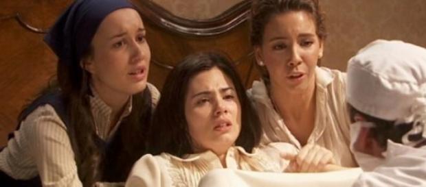 Il Segreto: Il difficile parto di Maria