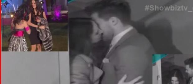Leandro se besa con Adriana en el reingreso