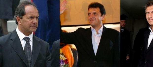 Los principales candidatos a presidente