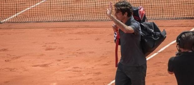 Murray through but Federer waved goodbye to Madrid