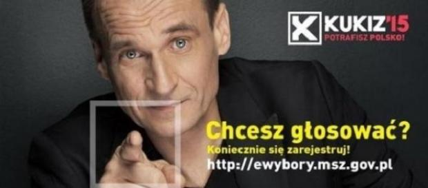 Paweł Kukiz kandydat na prezydenta Polski