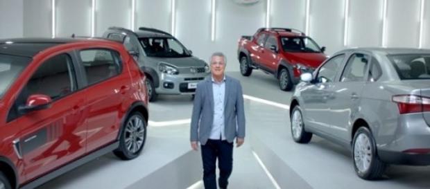 Pedro Bial, novo garoto-propaganda da Fiat