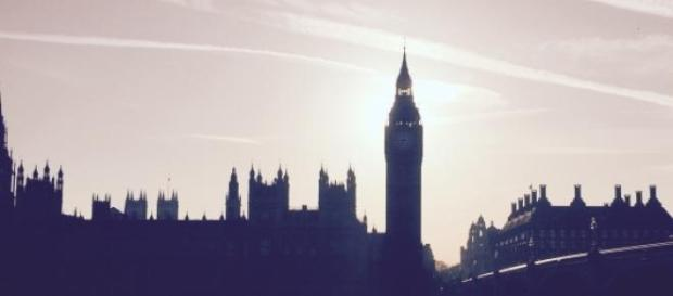 The Houses of Parliament at sunset
