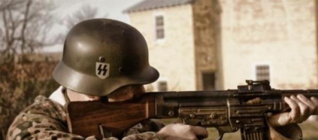 Un soldato durante la Seconda Guerra Mondiale