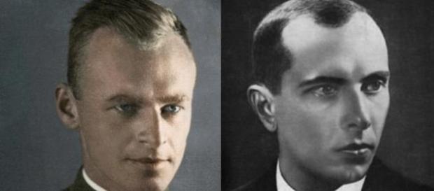 Witold Pilecki i Stepan Bandera