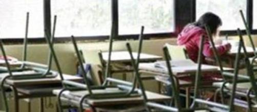 Aulas vacías producto de la deserción escolar