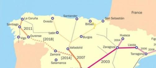 Autoestrada muito usada por emigrantes portugueses