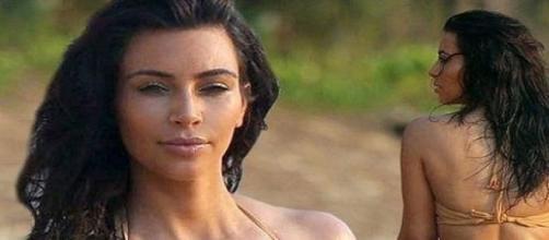 Kardashian tem feito sucesso pelas suas curvas.