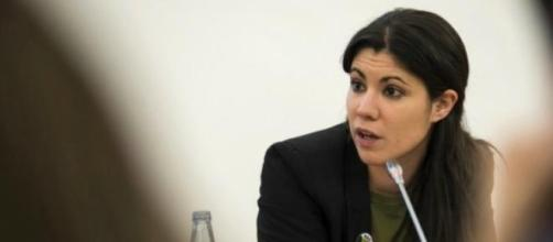 Mariana Mortágua, deputada do Bloco de Esquerda.