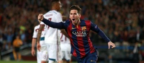 Messi in Barcellona-Bayern 3-0: due gol, un assist