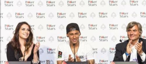 Neymar é o novo astro do PokerStars
