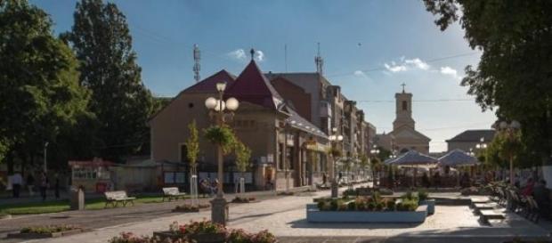 Centrul orașului Sânnicolau Mare