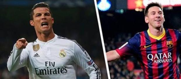 Dois 'monstros' do futebol mundial