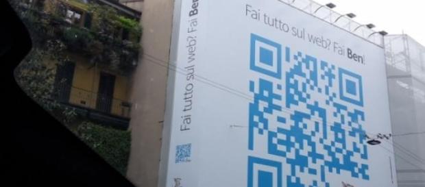 El mayor código QR del mundo se haya en Milán