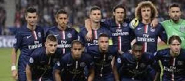 L'équipe Parisienne avant un match