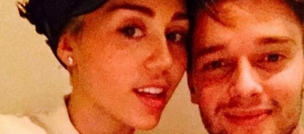 Miley Cyrus und Patrick Schwarzenegger.