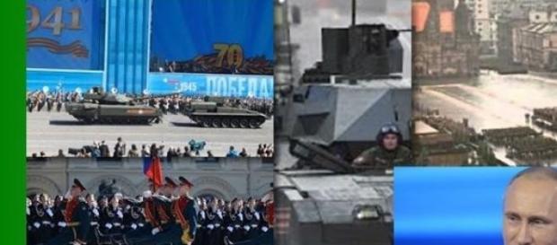 Putin mostra i nuovi tank della Russia