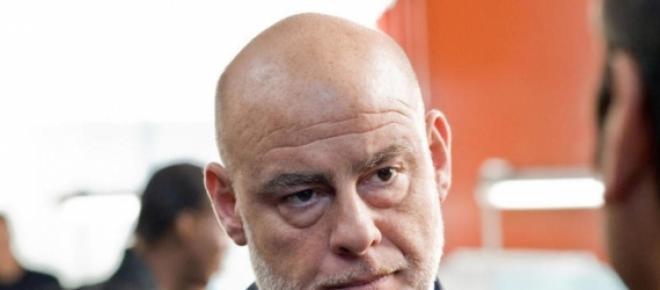 Aitor Mazo, durante una entrevista