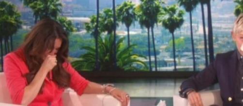 Ellen DeGeneres emocionou-se com Sonya Romero
