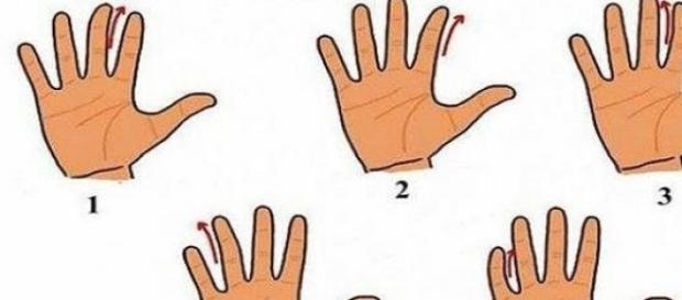 degete, caracter, forma degetelor