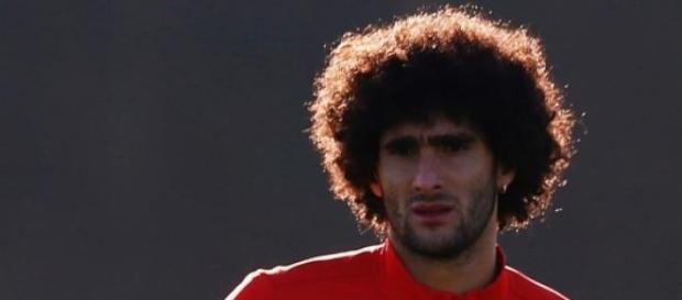 Fellaini, le Diable rouge.
