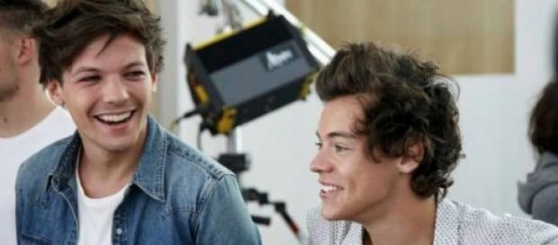 Harry Styles não está contente com Louis.