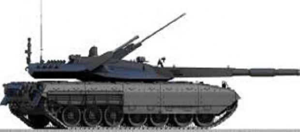 Il nuovo carro armato russo T-14 Armata.