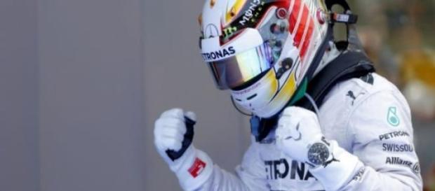 Nico Rosberg gana la 'Pole Position' en España