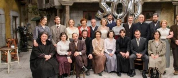 Un'immagine significativa della telenovela