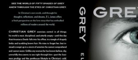 A capa de Grey, o novo livro de E L James